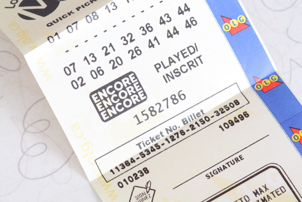 Lotto Max with Encore